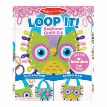 Load image into Gallery viewer, Loop It Craft Set - Owl