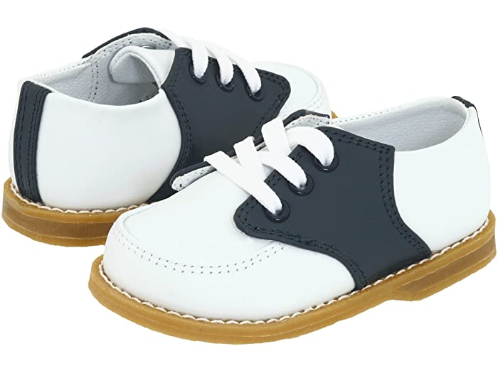 Conner Navy & White Saddle Oxford