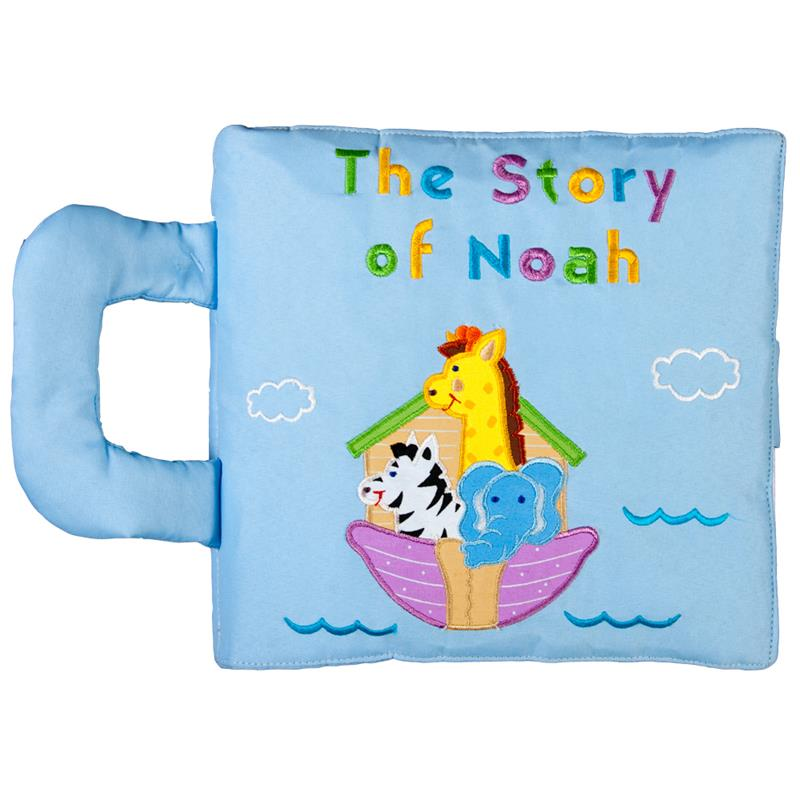 Story of Noah Play Book - Blue