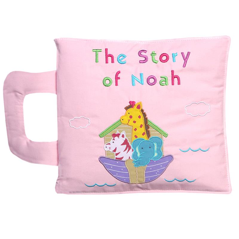 Copy of Story of Noah Play Book - Pink