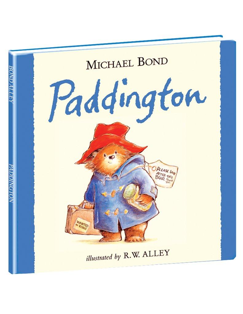 Paddington Hard Cover Book