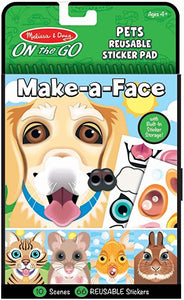 Make A Face Reusable Sticker Pad