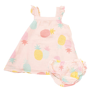 Pineapples Sundress & Bloomer