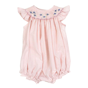 Bishop Short Romper with Flowers