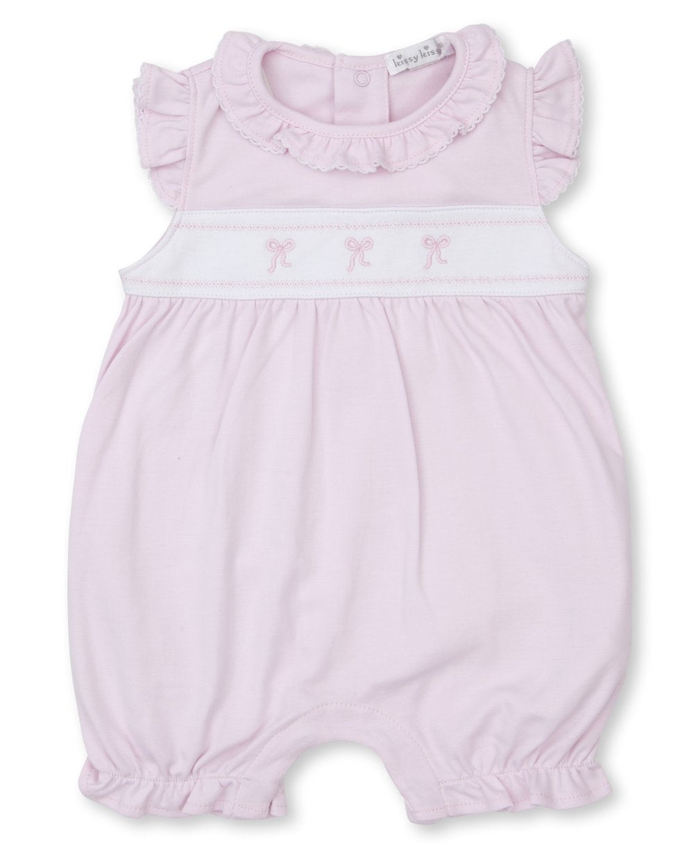 Classic Treasures Bows Embroidered Playsuit