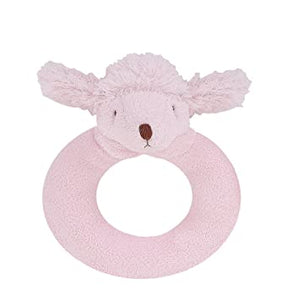 Poodle Ring Rattle