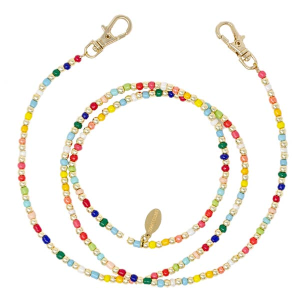 Rainbow Face Mask Chain