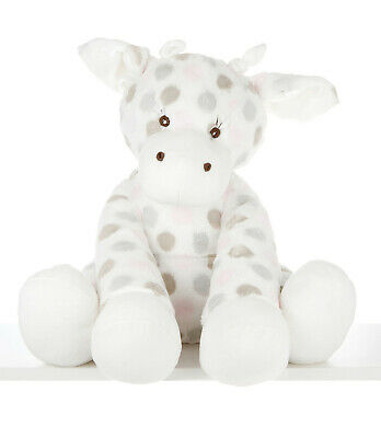 Luxe Dot Plush Little Giraffe - Pink