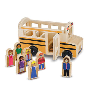 Wooden School Bus