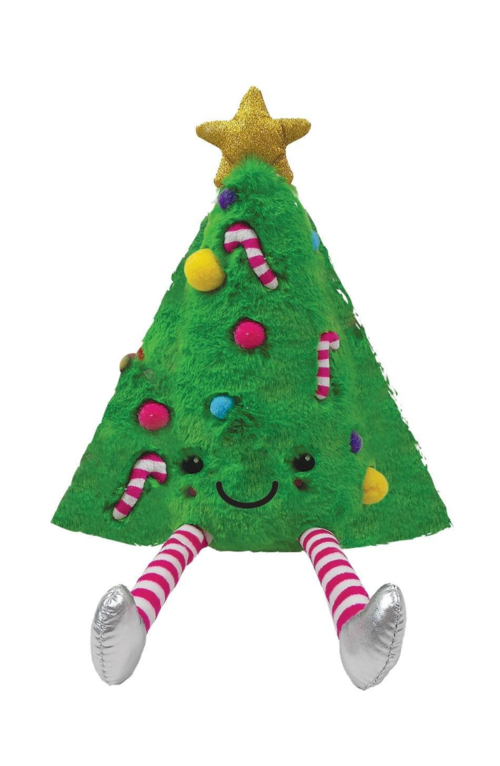 Stuffed Furry Christmas Tree