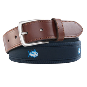 True Navy Skipjack Ribbon Belt
