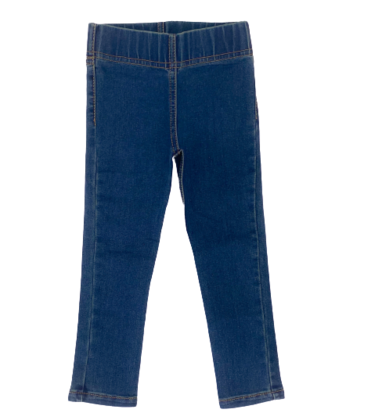 Girls Denim Slim Pant