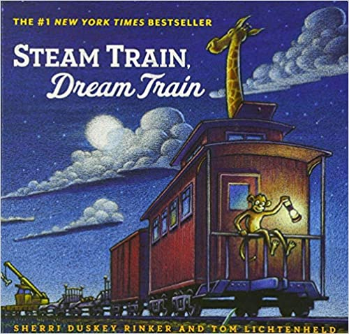 Steam Train Dream Train Board Book