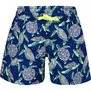 Psychadelic Turtles Swim Trunks