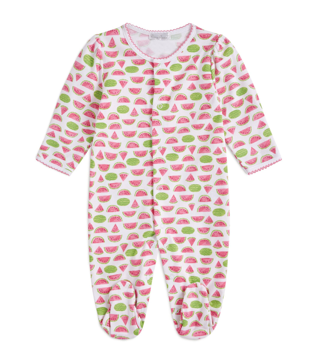 Whimsical Watermelons Print Footie