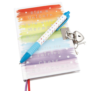 Wish Diary With Pen