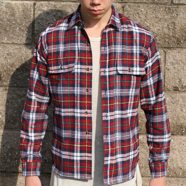V-Cut Flannel (Red)