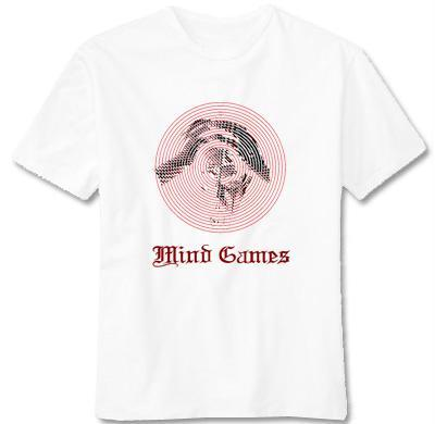 Mind Games #1 Tee (White)