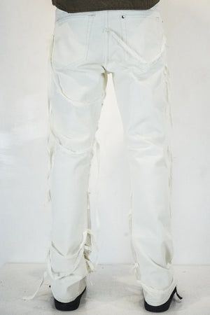 Nazareth Denim In White/Natural
