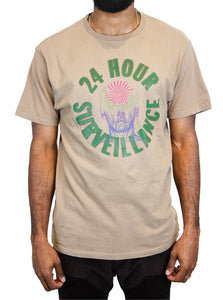 24 Hour T-Shirt in Light Brown