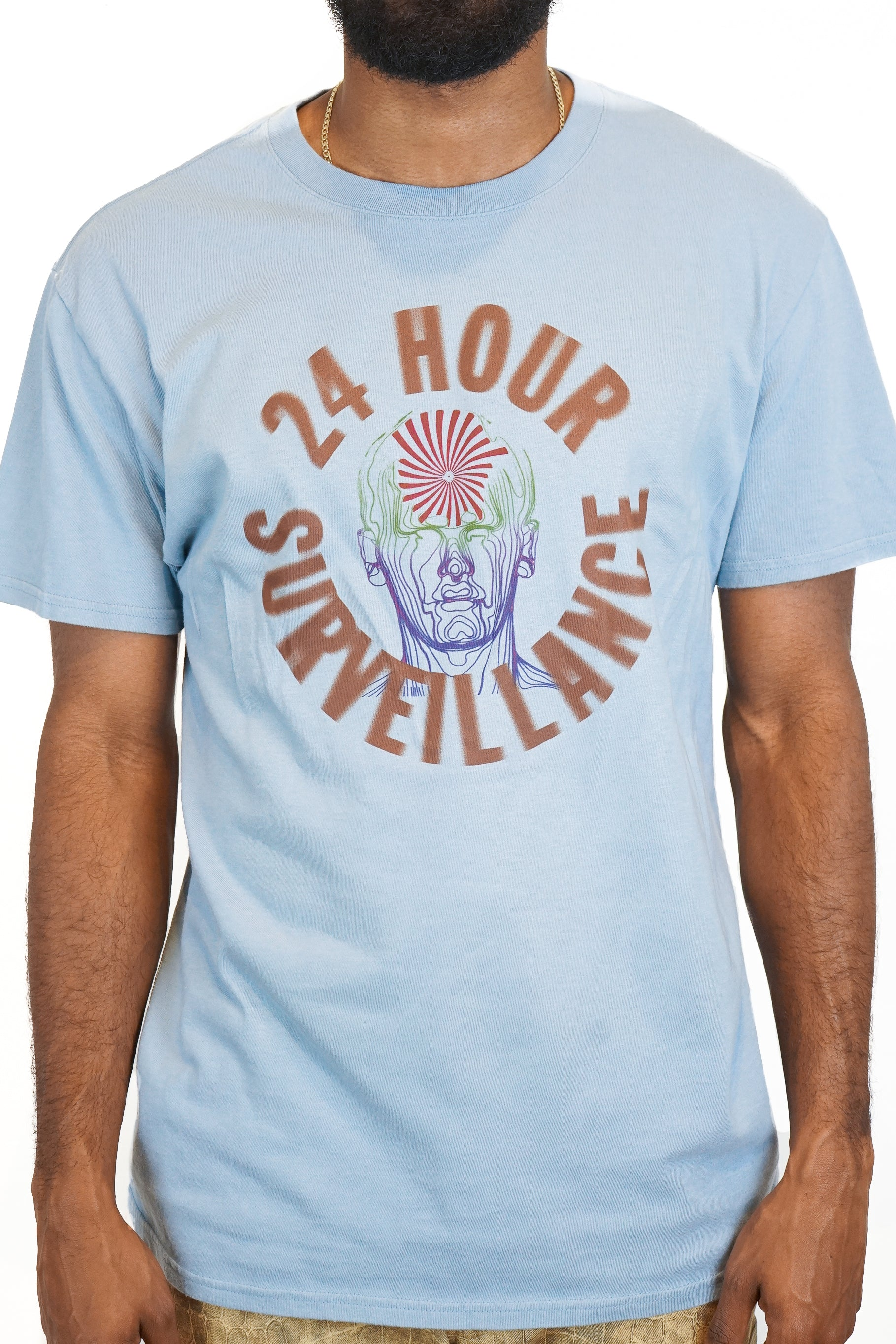 24 Hour T-Shirt in Soft Blue