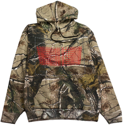 Wood Camo Conspiracy Hoodie Illusion American