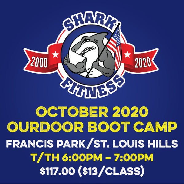OCTOBER 2020 T/TH 6pm Francis Park Outdoor Boot Camp
