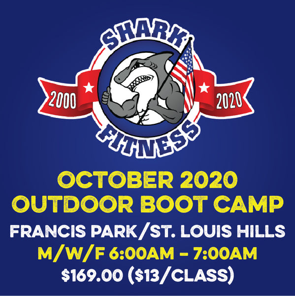 OCTOBER 2020 M/W/F 6am Francis Park Outdoor Boot Camp