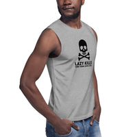 Lazy Kills Unisex Muscle Shirt - Light Colors