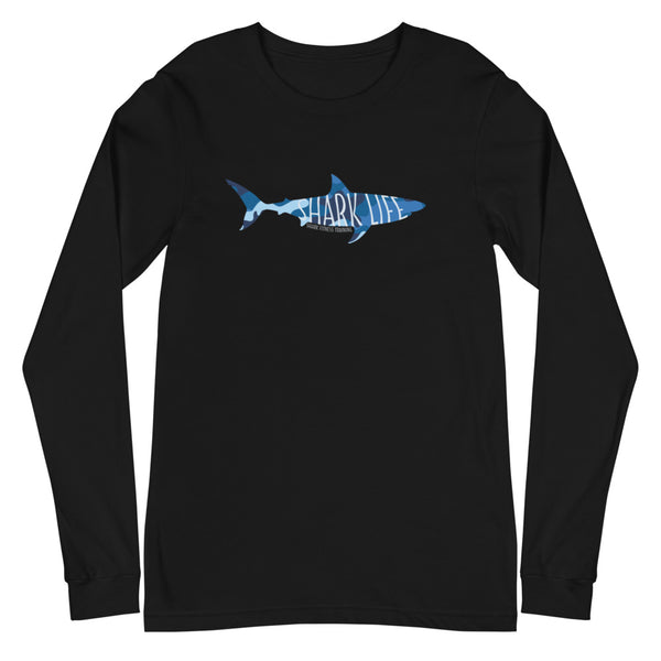 Shark Life Unisex Long Sleeve Tee