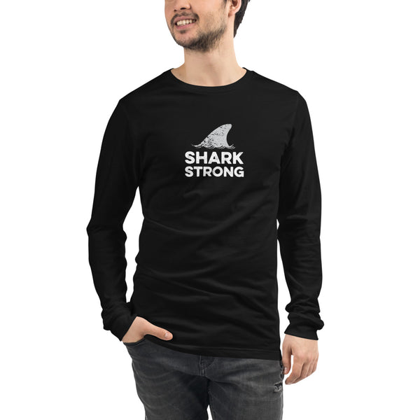 Shark Strong Unisex Long Sleeve Tee