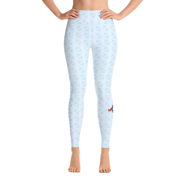 Shark Fitness Training Blue Fin Leggings