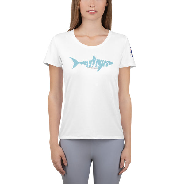 Shark Life Women's Athletic T-shirt