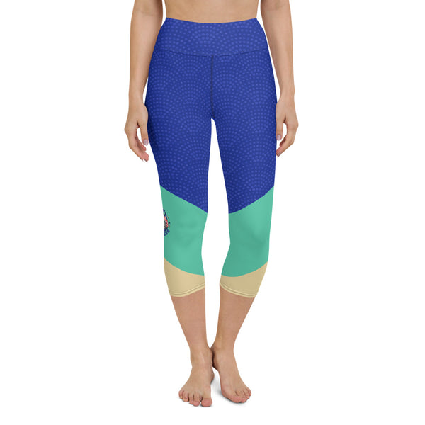 Colorblock Capri Leggings