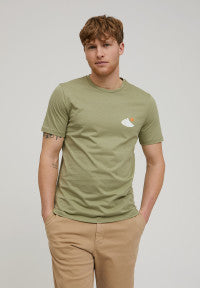 ARMEDANGELS MEN SHIRT JAAMES RETRO - sage