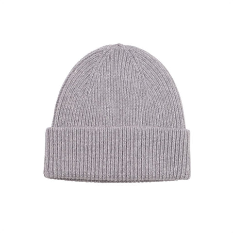 Colorful Standard Merino Wool Beanie - Heather Grey