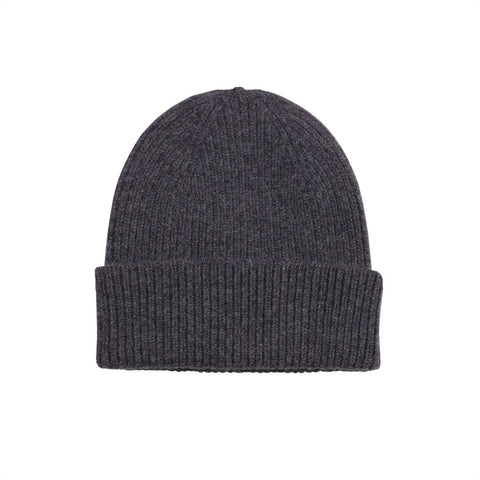 Colorful Standard Merino Wool Beanie -  Lava Grey