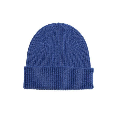 Colorful Standard Merino Wool Beanie - Royal Blue