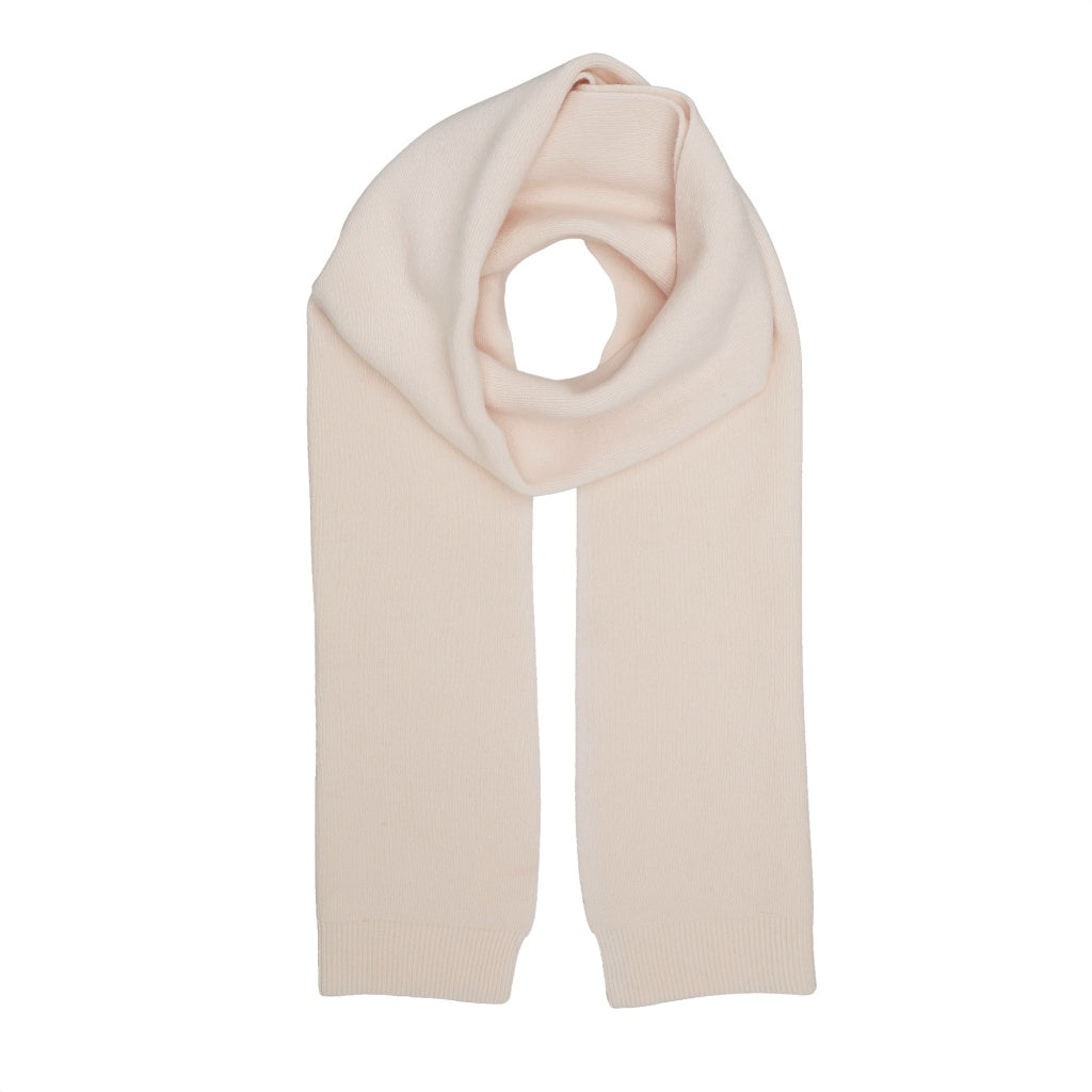 Colorful Standard Merino Wool Scarf - Ivory white