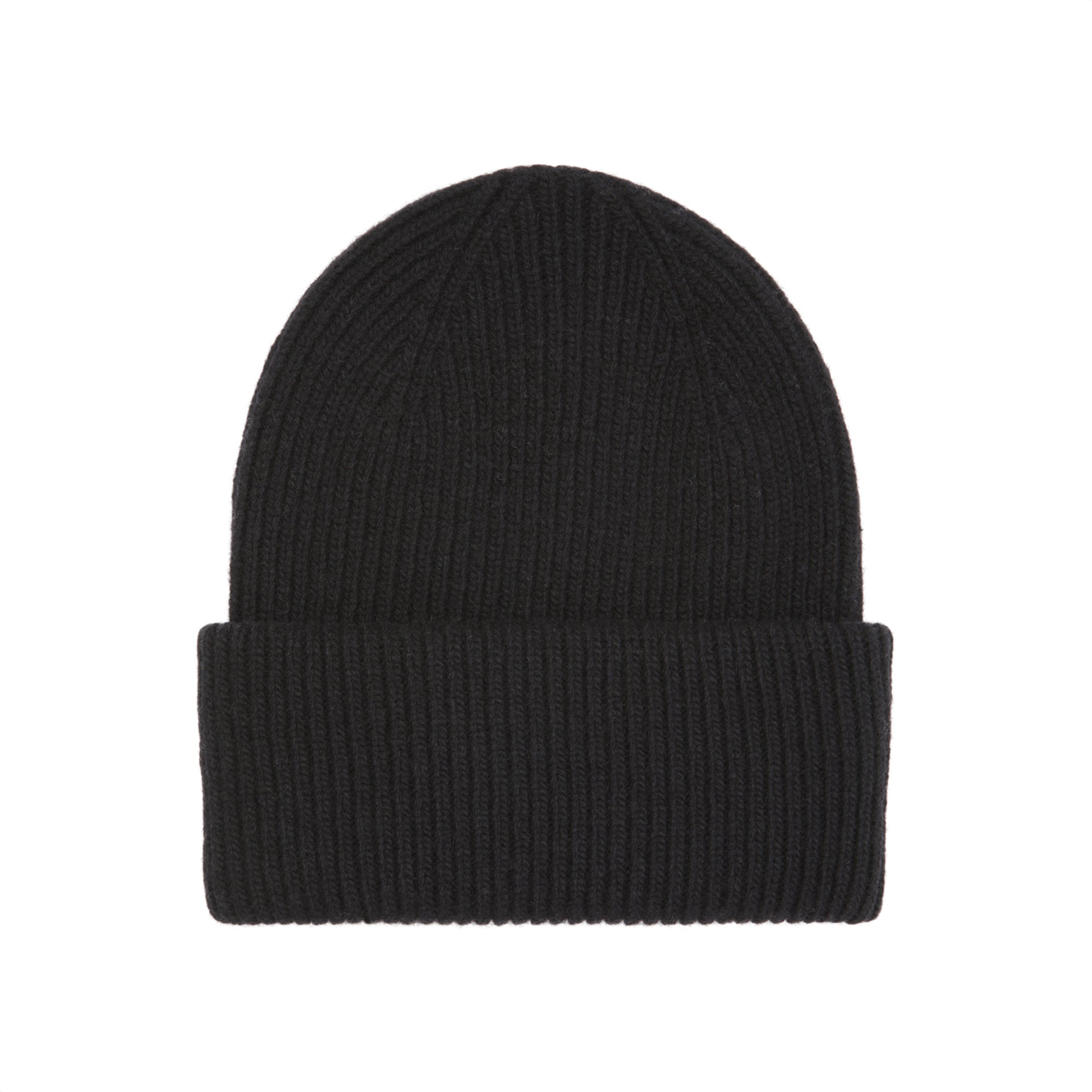 Colorful Standard Merino Wool Hat - black