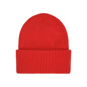 Colorful Standard Merino Wool Hat - Scarlet Red