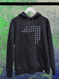 Hoodie pullover Black Greentech Festival 2020 sustainable Merch