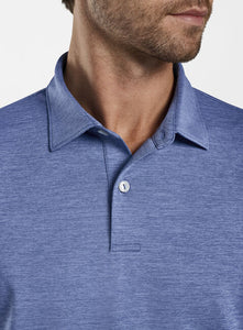 Crown Crafted Solid Stretch Jersey Polo