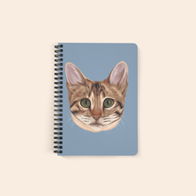 Load image into Gallery viewer, custom cat notebook