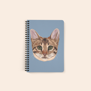 custom cat notebook