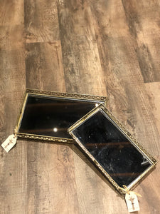 Avery Rectangle Mirror Tray