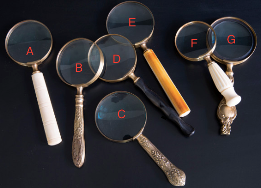 Vintage Inspired Magnifying Glasses