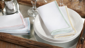 Lace Border Napkin Set of 4