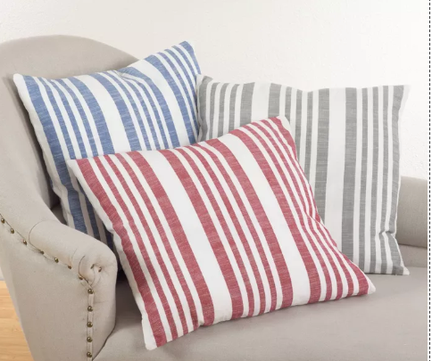 Striped Designed Pillow