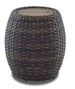Outdoor: Mesa Round Woven Accent Table